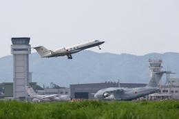 おぺちゃんさんが、米子空港で撮影した航空自衛隊 U-4 Gulfstream IV (G-IV-MPA)の航空フォト(飛行機 写真・画像)