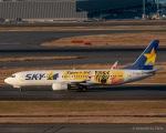 RUNWAY23.TADAさんが、羽田空港で撮影したスカイマーク 737-8FHの航空フォト(写真)