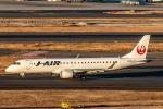 RUNWAY23.TADAさんが、羽田空港で撮影したジェイ・エア ERJ-190-100(ERJ-190STD)の航空フォト(写真)