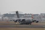 masamasaさんが、福岡空港で撮影したアメリカ空軍 C-17A Globemaster IIIの航空フォト(写真)