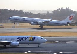 ふじいあきらさんが、成田国際空港で撮影した中国国際航空 A340-313Xの航空フォト(飛行機 写真・画像)