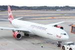 水月さんが、成田国際空港で撮影したヴァージン・アトランティック航空 A340-642の航空フォト(写真)