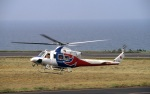LEVEL789さんが、鳥取空港で撮影した広島県防災航空隊 412EPの航空フォト(写真)