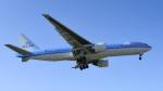 パンダさんが、成田国際空港で撮影したKLMオランダ航空 777-206/ERの航空フォト(写真)