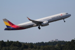 OMAさんが、成田国際空港で撮影したアシアナ航空 A321-231の航空フォト(写真)