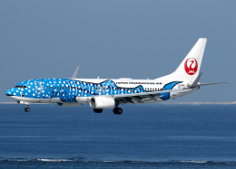 voyagerさんが、那覇空港で撮影した日本トランスオーシャン航空 737-8Q3の航空フォト(写真)