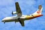 Kuuさんが、鹿児島空港で撮影した日本エアコミューター ATR-42-600の航空フォト(飛行機 写真・画像)