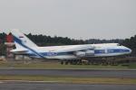 れえどんさんが、成田国際空港で撮影したヴォルガ・ドニエプル航空 An-124-100 Ruslanの航空フォト(写真)
