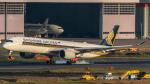 RUNWAY23.TADAさんが、羽田空港で撮影したシンガポール航空 A350-941XWBの航空フォト(写真)