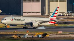 RUNWAY23.TADAさんが、羽田空港で撮影したアメリカン航空 787-9の航空フォト(写真)