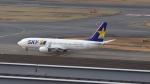 mich_stoneさんが、羽田空港で撮影したスカイマーク 737-8ALの航空フォト(写真)