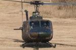 木人さんが、習志野演習場で撮影した陸上自衛隊 UH-1Jの航空フォト(写真)