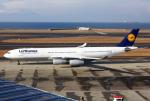 Mar Changさんが、中部国際空港で撮影したルフトハンザドイツ航空 A340-313Xの航空フォト(写真)