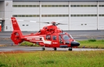 kaeru6006さんが、東京ヘリポートで撮影した東京消防庁航空隊 AS365N3 Dauphin 2の航空フォト(写真)