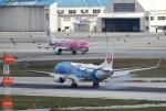 ワーゲンバスさんが、那覇空港で撮影した日本トランスオーシャン航空 737-8Q3の航空フォト(写真)