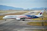 kina309さんが、関西国際空港で撮影したマレーシア航空 A350-941XWBの航空フォト(写真)