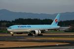 Jin Bergqiさんが、鹿児島空港で撮影した大韓航空 777-2B5/ERの航空フォト(写真)
