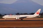 Jin Bergqiさんが、鹿児島空港で撮影した日本航空 767-346/ERの航空フォト(写真)