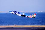 Takehiro-2018さんが、羽田空港で撮影したエアーニッポン 737-4Y0の航空フォト(写真)