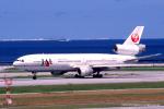 Takehiro-2018さんが、那覇空港で撮影した日本航空 DC-10-40Dの航空フォト(写真)