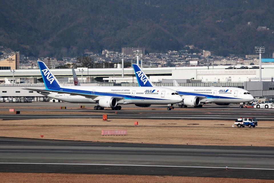 T.Sazenさんの全日空 Boeing 787-9 (JA833A) 航空フォト