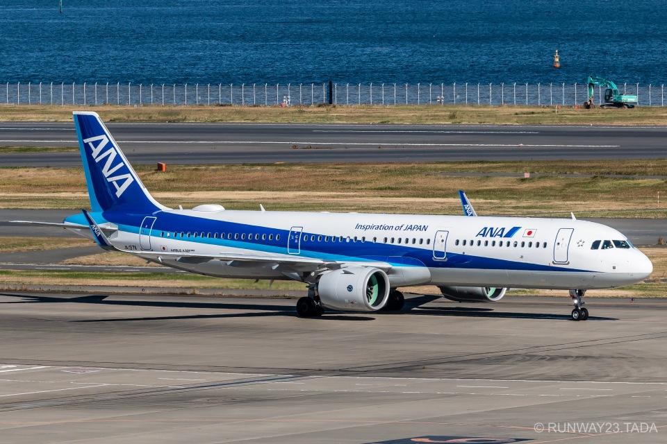 RUNWAY23.TADAさんの全日空 Airbus A321neo (JA137A) 航空フォト