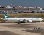 RUNWAY23.TADAさんが、羽田空港で撮影したキャセイパシフィック航空 777-367の航空フォト(写真)