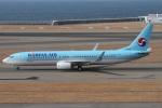 rjジジィさんが、中部国際空港で撮影した大韓航空 737-9B5/ER の航空フォト(写真)