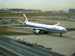 まいけるさんが、羽田空港で撮影した中国国際航空 A330-343Xの航空フォト(写真)
