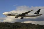 ピーチさんが、岡山空港で撮影した全日空 777-281の航空フォト(写真)