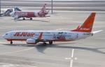 m_aereo_iさんが、中部国際空港で撮影したチェジュ航空 737-8ASの航空フォト(写真)