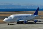 岡ちゃんさんが、中部国際空港で撮影したボーイング 747-409(LCF) Dreamlifterの航空フォト(写真)