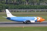 安芸あすかさんが、シンガポール・チャンギ国際空港で撮影したマイ・インド・エアラインズ 737-3Z0(SF)の航空フォト(写真)
