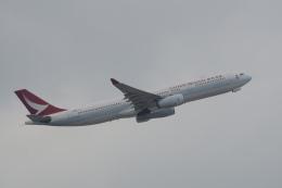 神宮寺ももさんが、香港国際空港で撮影したキャセイドラゴン A330-342Xの航空フォト(写真)