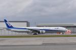 ワイエスさんが、那覇空港で撮影した全日空 777-381の航空フォト(写真)