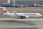 rjジジィさんが、羽田空港で撮影した日本航空 767-346/ERの航空フォト(写真)