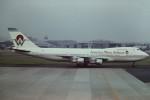 tassさんが、名古屋飛行場で撮影したアメリカウエスト航空 747-206Bの航空フォト(写真)
