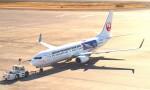 まふまふさんが、羽田空港で撮影した日本トランスオーシャン航空 737-8Q3の航空フォト(写真)