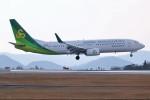 ヒロジーさんが、広島空港で撮影した春秋航空日本 737-81Dの航空フォト(写真)