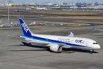 zettaishinさんが、羽田空港で撮影した全日空 787-8 Dreamlinerの航空フォト(写真)