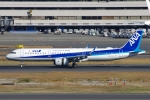 zettaishinさんが、羽田空港で撮影した全日空 A321-272Nの航空フォト(写真)