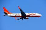 まいけるさんが、スワンナプーム国際空港で撮影したチェジュ航空 737-8ASの航空フォト(写真)