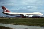 tassさんが、ロンドン・ガトウィック空港で撮影したヴァージン・アトランティック航空 747-123の航空フォト(写真)