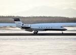 バーダーさんが、新千歳空港で撮影したMJETS G-Vの航空フォト(写真)