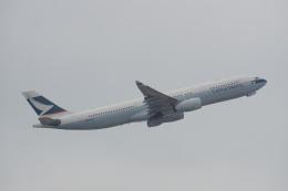 神宮寺ももさんが、香港国際空港で撮影したキャセイパシフィック航空 A330-343Xの航空フォト(写真)