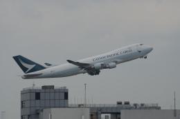 神宮寺ももさんが、香港国際空港で撮影したキャセイパシフィック航空 747-467F/ER/SCDの航空フォト(写真)