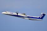 HISAHIさんが、福岡空港で撮影したANAウイングス DHC-8-402Q Dash 8の航空フォト(写真)
