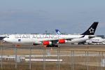 菊池 正人さんが、成田国際空港で撮影したスカンジナビア航空 A340-313Xの航空フォト(写真)