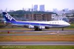 Takehiro-2018さんが、伊丹空港で撮影した全日空 747SR-81の航空フォト(写真)