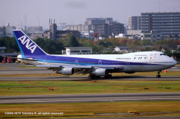 Takehiro-2018さんが、伊丹空港で撮影した全日空 747-281Bの航空フォト(飛行機 写真・画像)